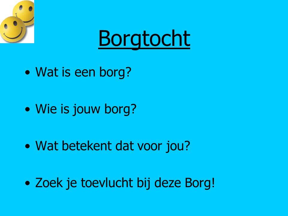 Borgtocht Wat is een borg Wie is jouw borg