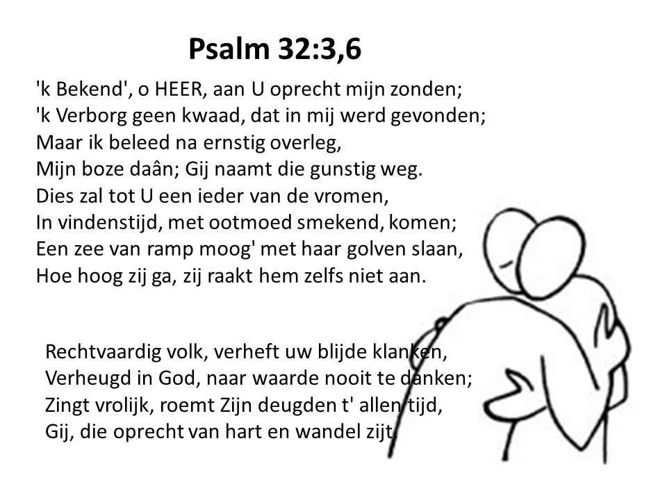 Psalm 32:3,6