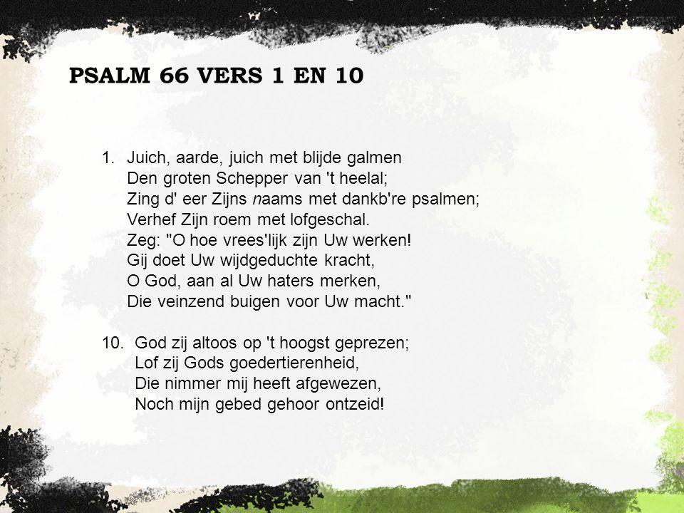 PSALM 66 VERS 1 EN 10