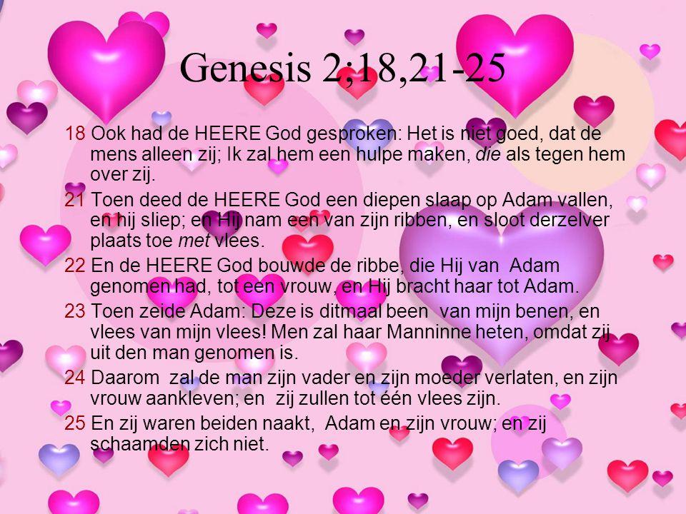 Genesis 2;18,21-25