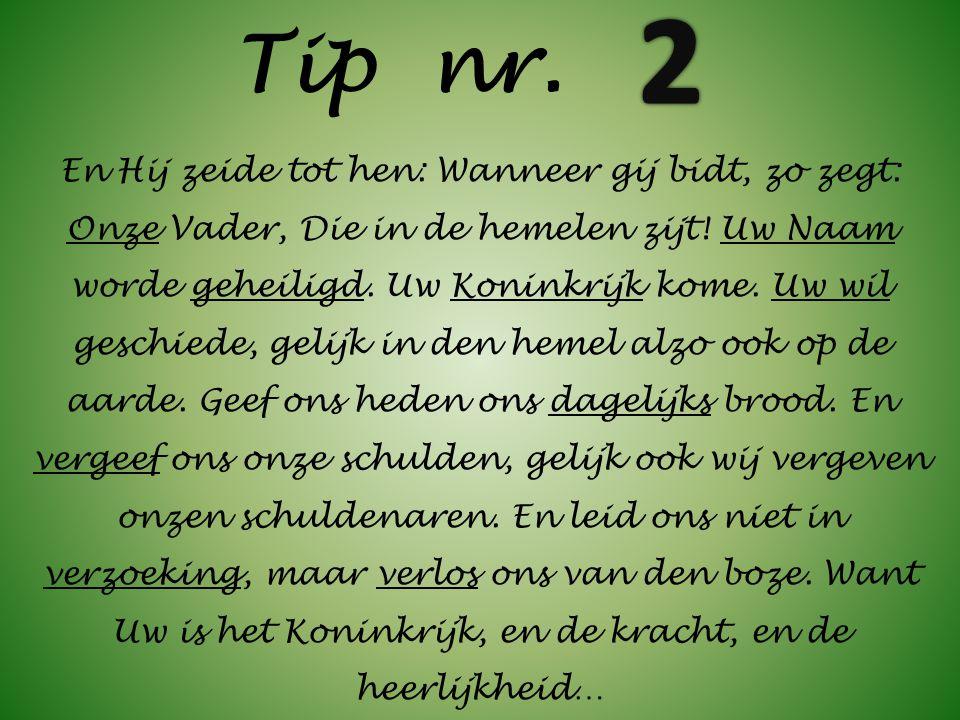 2 Tip nr.