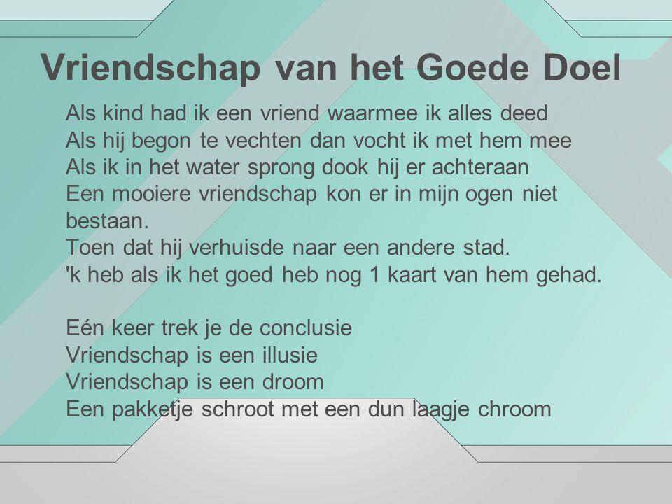 Vriendschap van het Goede Doel