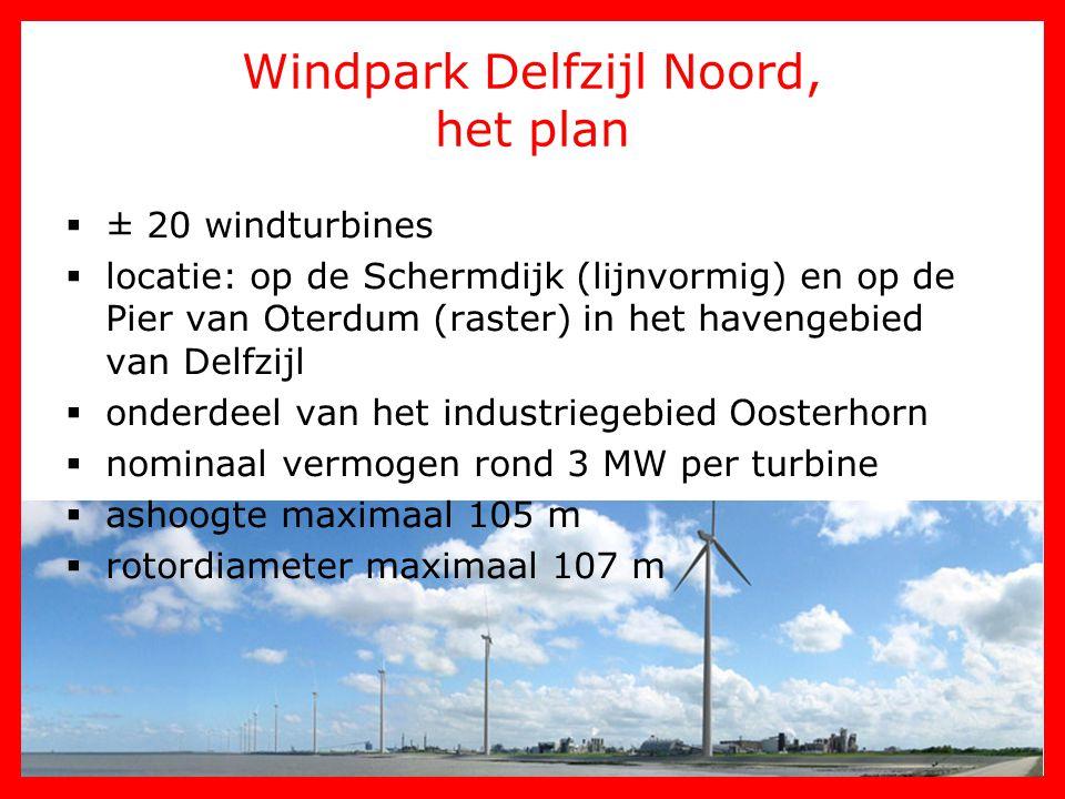Windpark Delfzijl Noord, het plan