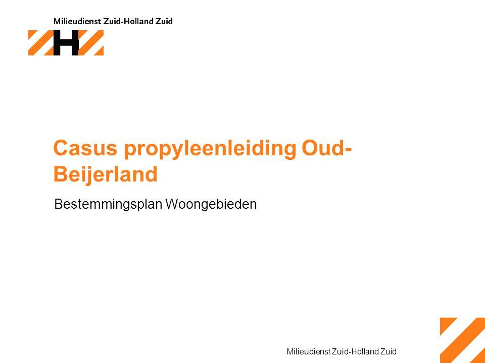 Casus propyleenleiding Oud-Beijerland