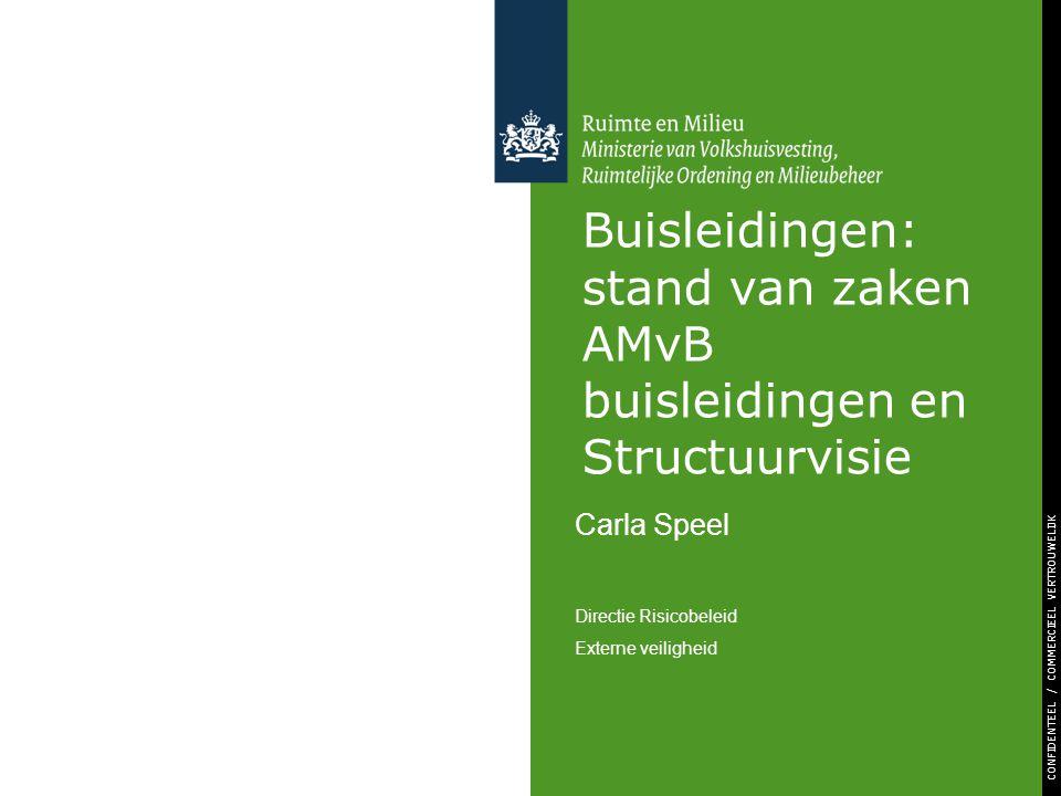 Buisleidingen: stand van zaken AMvB buisleidingen en Structuurvisie