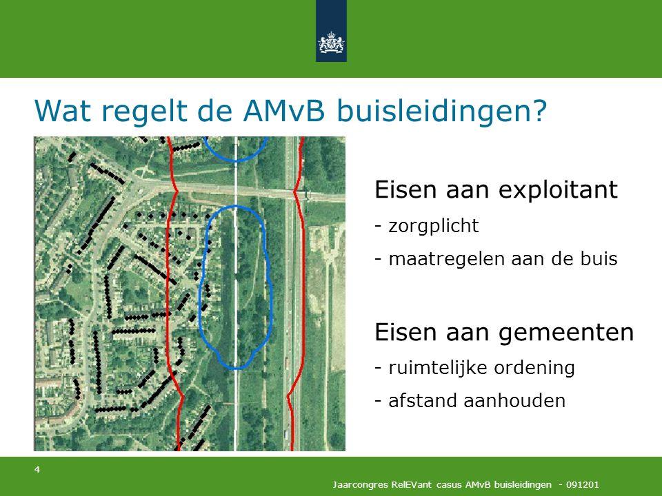 Wat regelt de AMvB buisleidingen