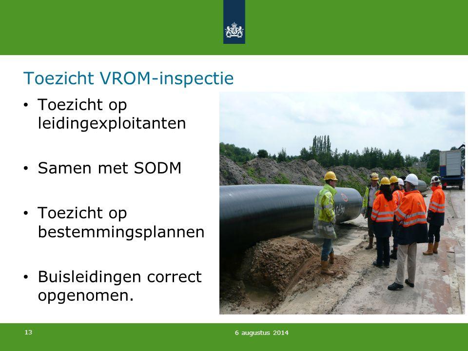 Toezicht VROM-inspectie