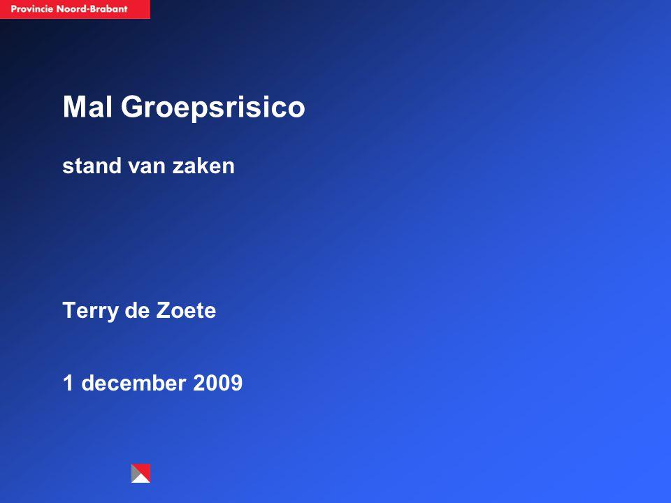 Mal Groepsrisico stand van zaken Terry de Zoete 1 december 2009