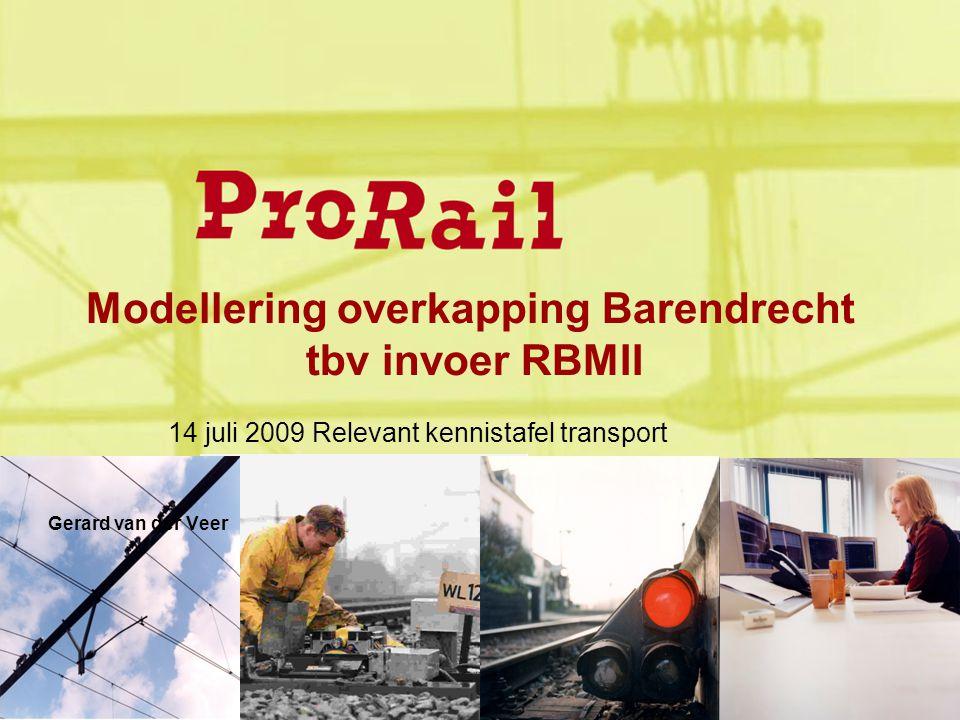 Modellering overkapping Barendrecht tbv invoer RBMII