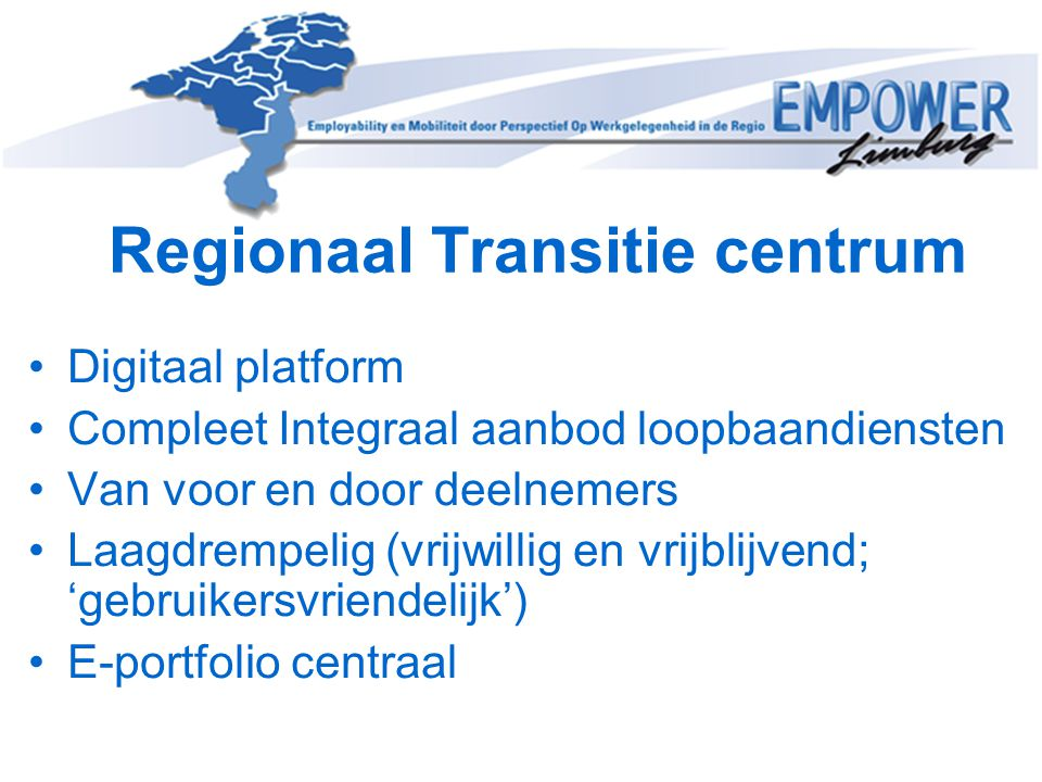 Regionaal Transitie centrum