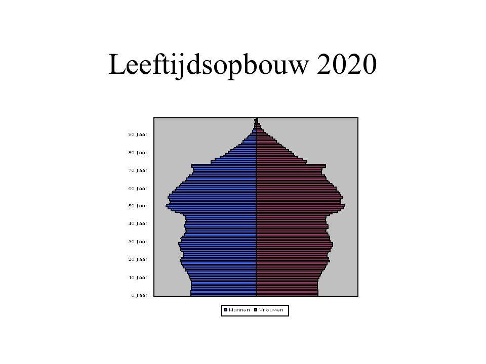 Leeftijdsopbouw 2020