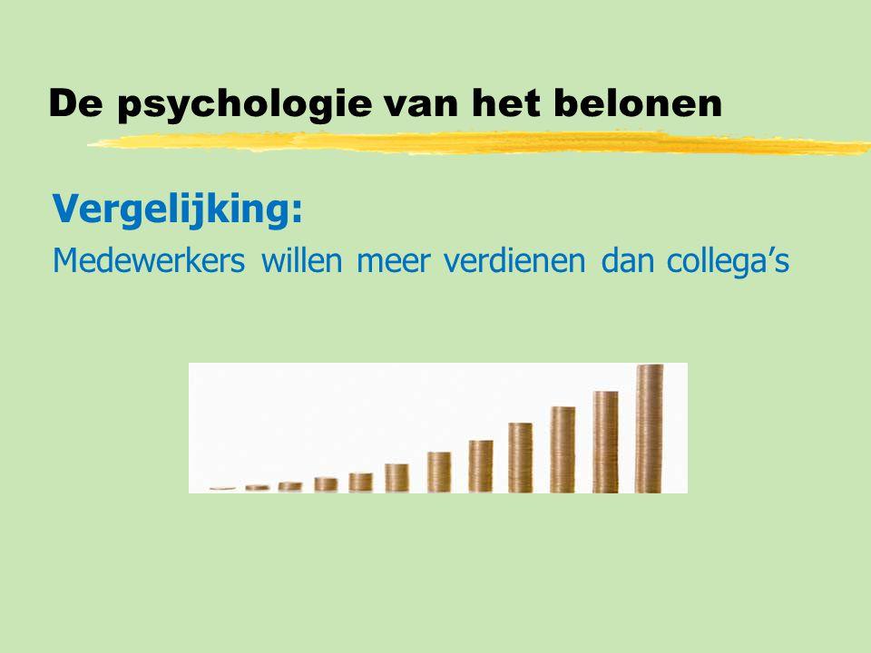 De psychologie van het belonen
