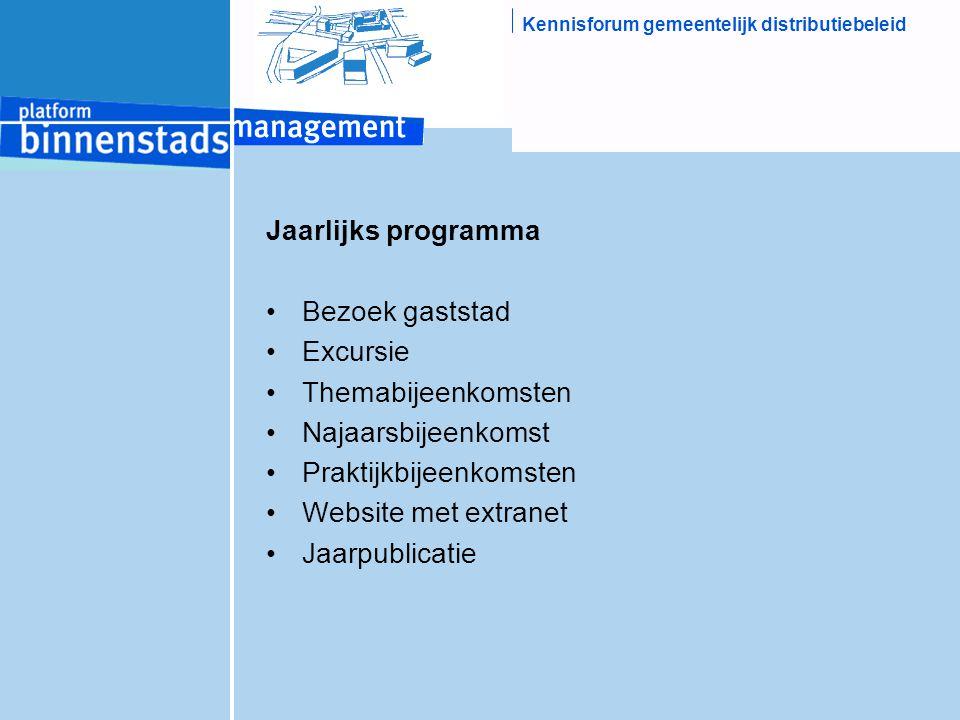 Kennisforum gemeentelijk distributiebeleid