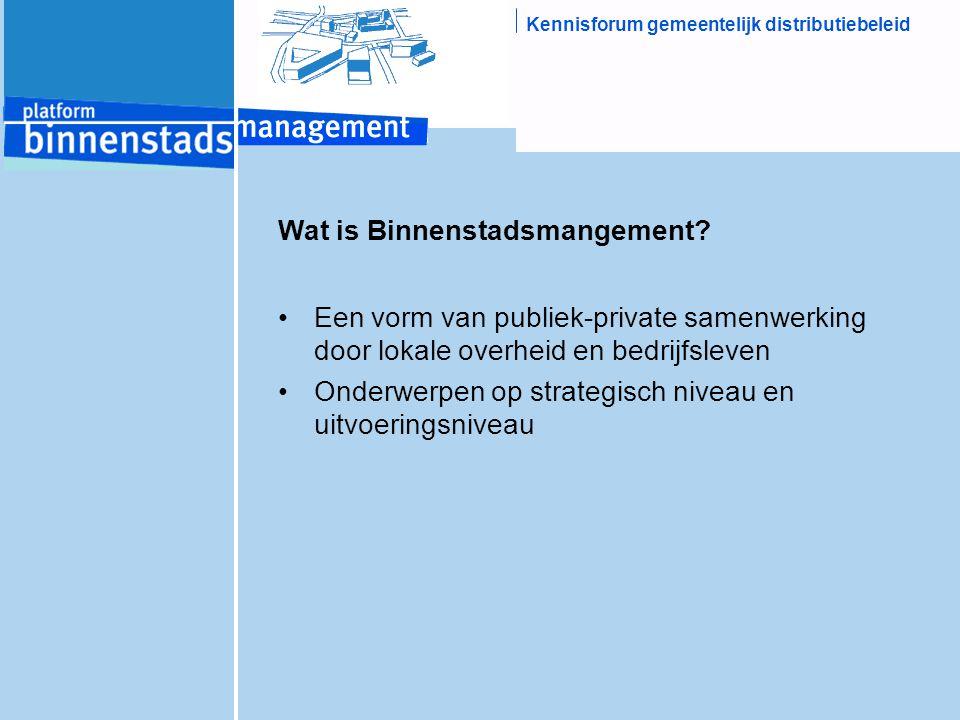 Wat is Binnenstadsmangement