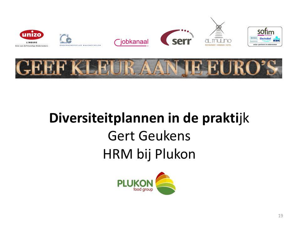 Diversiteitplannen in de praktijk