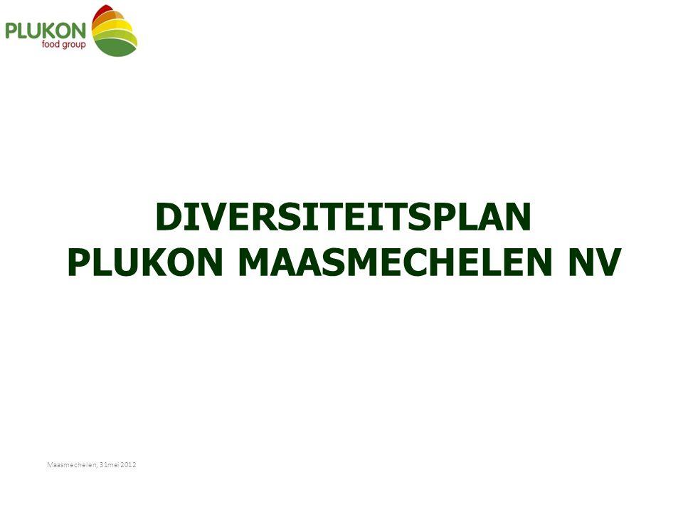 DIVERSITEITSPLAN PLUKON MAASMECHELEN NV