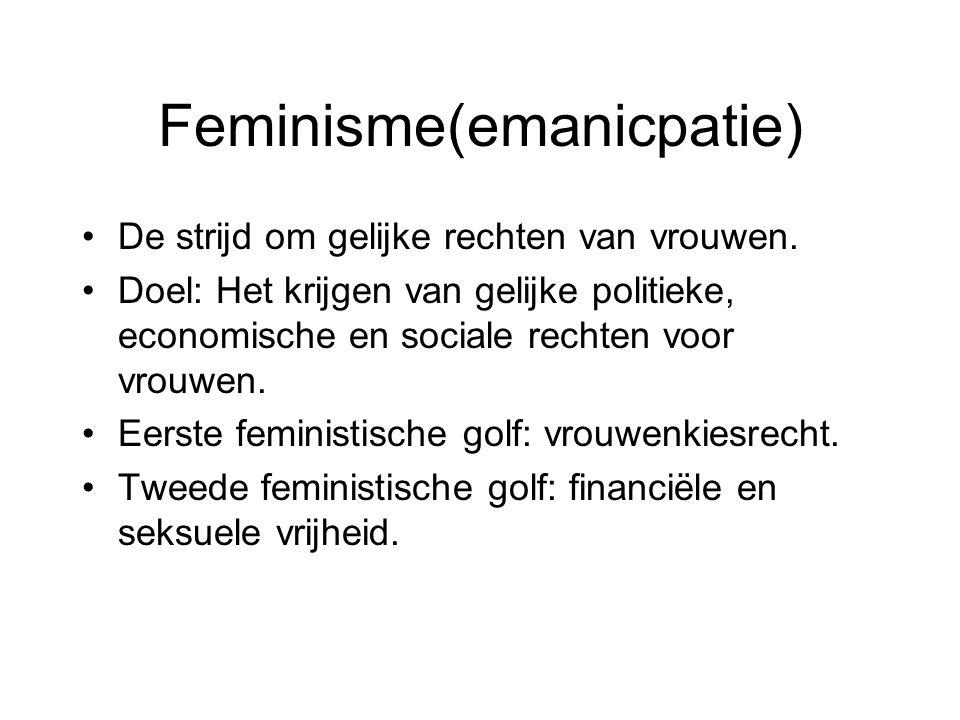 Feminisme(emanicpatie)