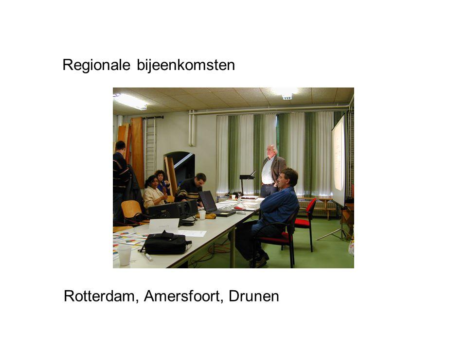 Regionale bijeenkomsten
