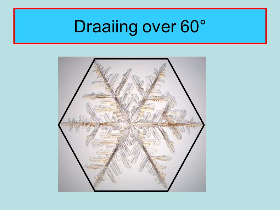 Draaiing over 60°