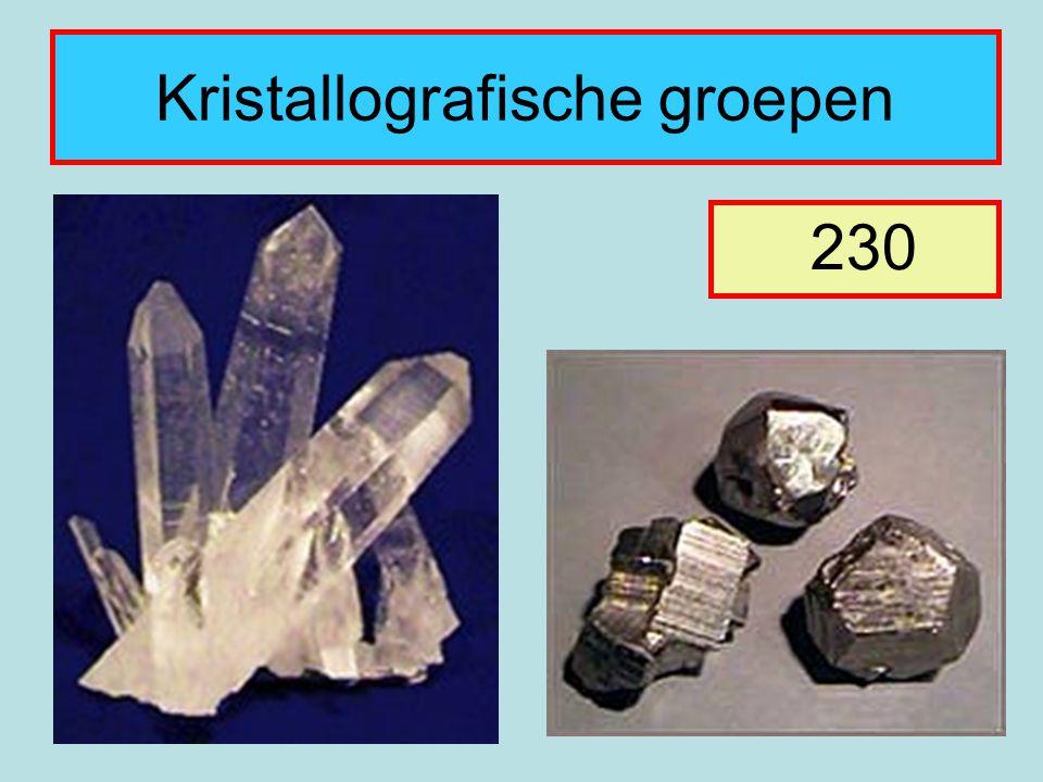 Kristallografische groepen