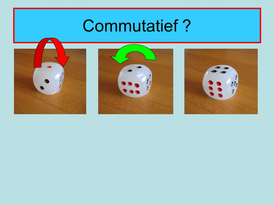 Commutatief