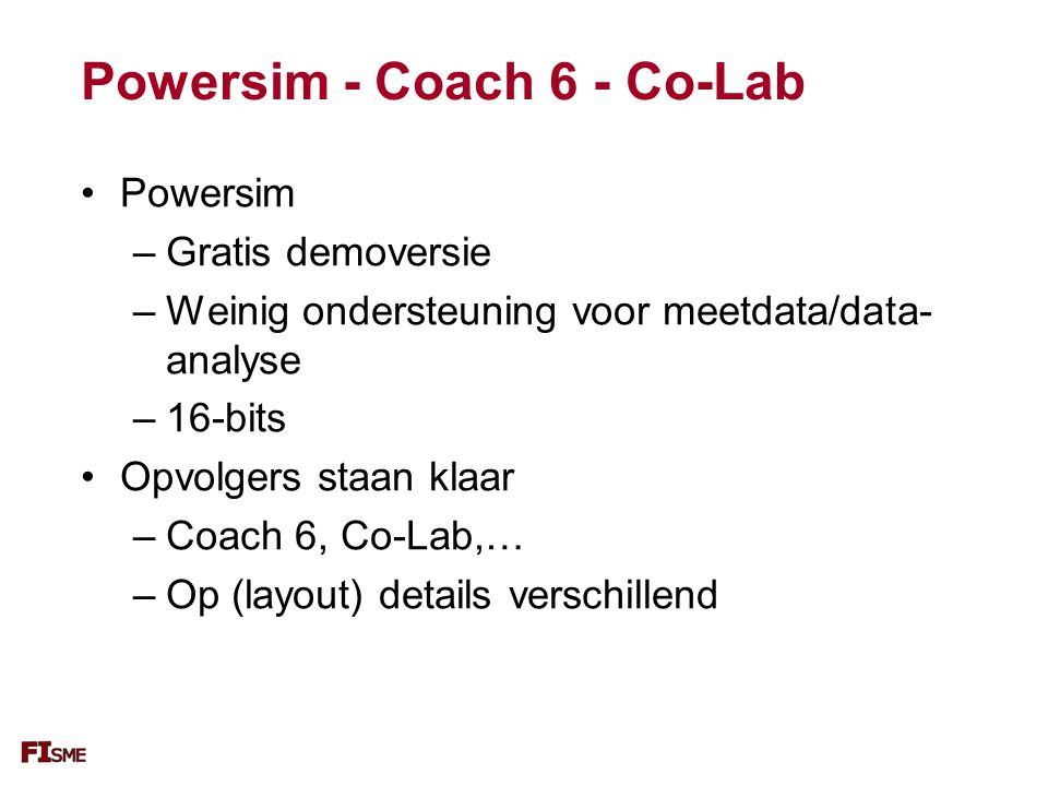Powersim - Coach 6 - Co-Lab
