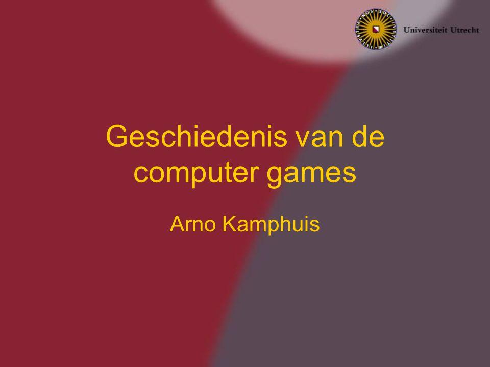 Geschiedenis van de computer games
