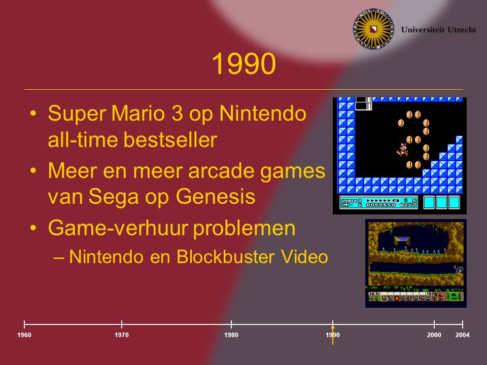 1990 Super Mario 3 op Nintendo all-time bestseller