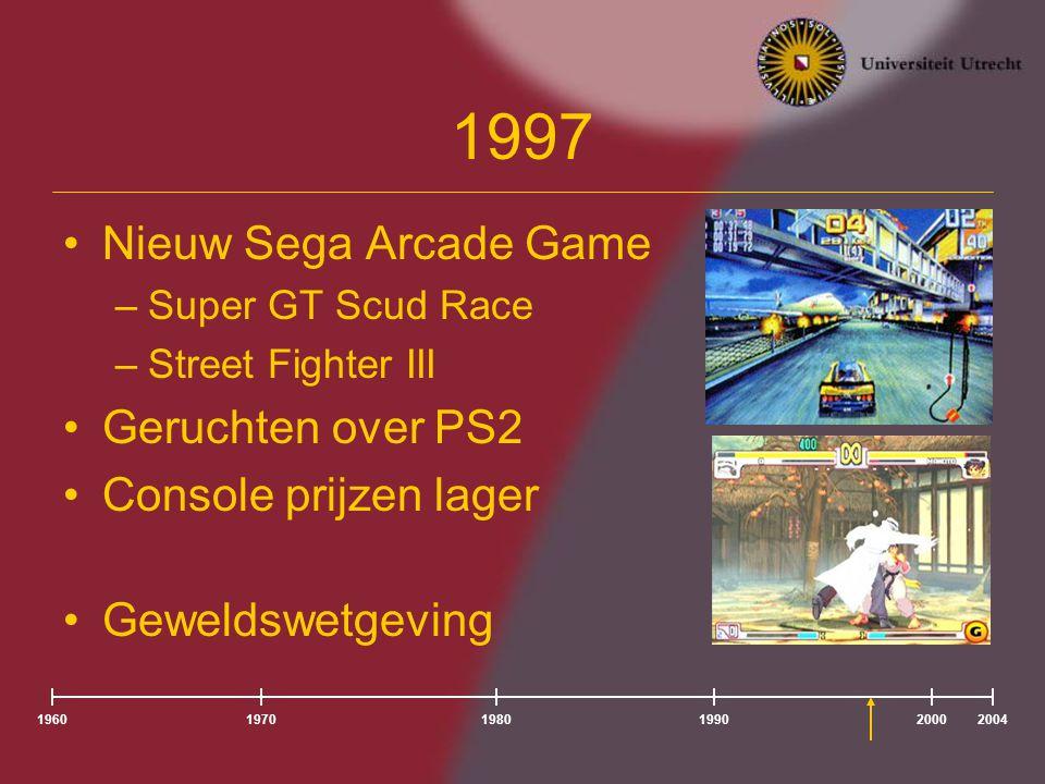 1997 Nieuw Sega Arcade Game Geruchten over PS2 Console prijzen lager