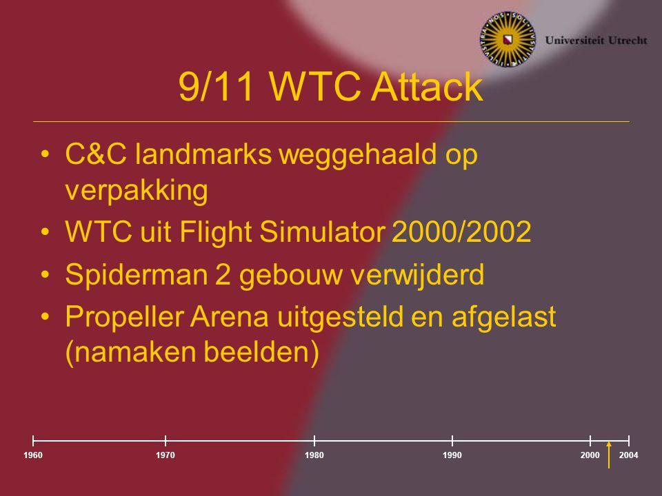 9/11 WTC Attack C&C landmarks weggehaald op verpakking
