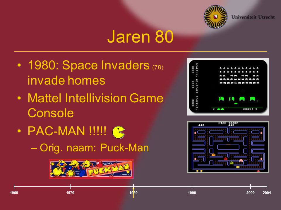 Jaren 80 1980: Space Invaders (78) invade homes