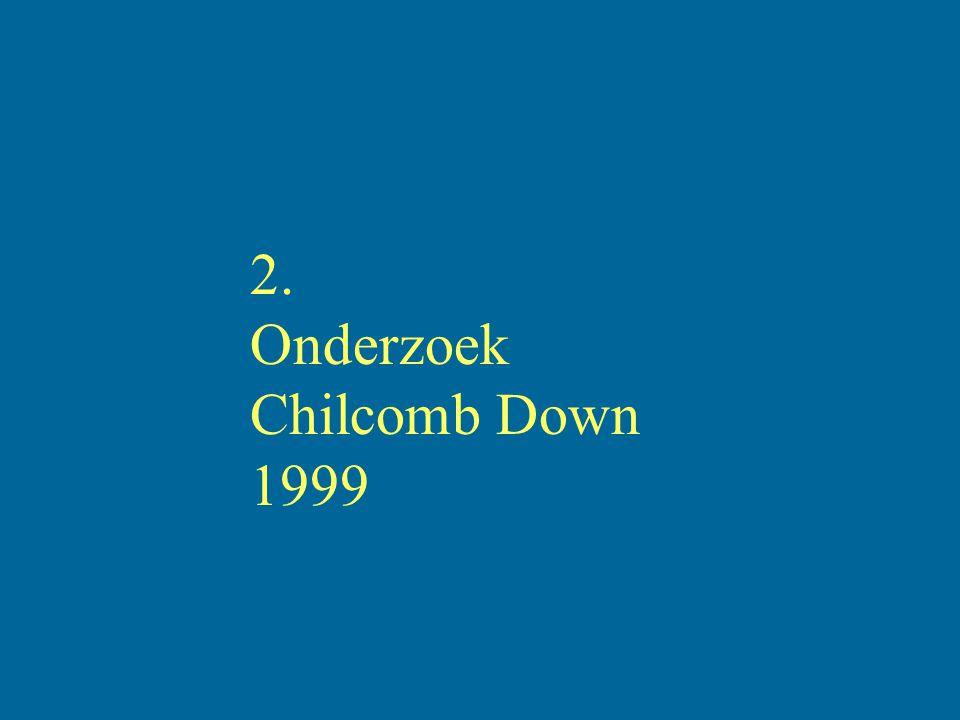 2. Onderzoek Chilcomb Down 1999