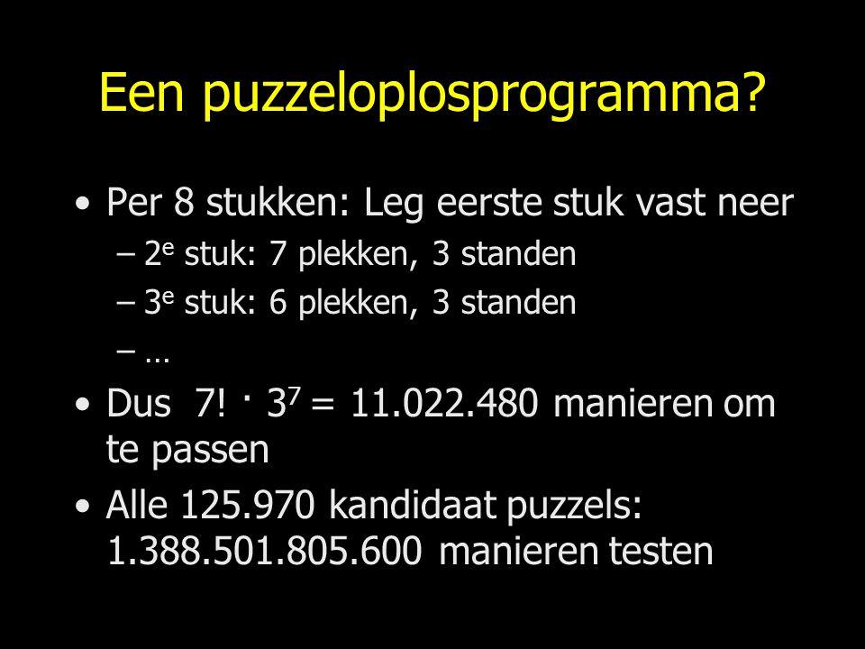 Een puzzeloplosprogramma