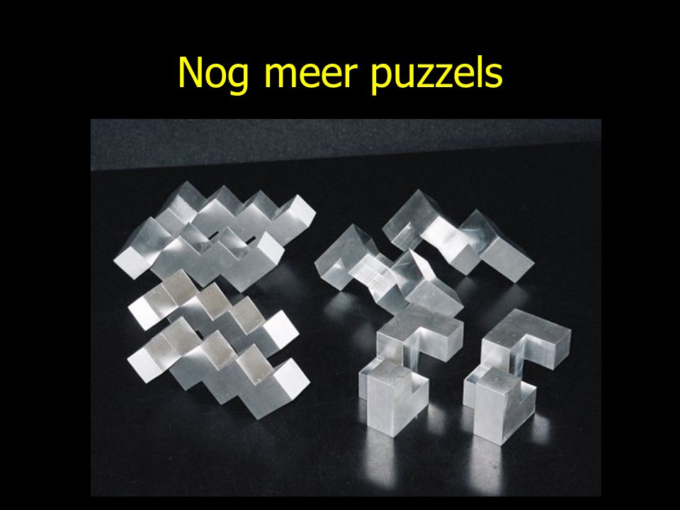 Nog meer puzzels