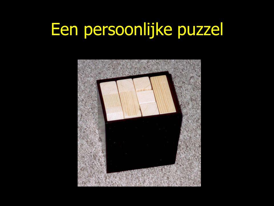 Een persoonlijke puzzel