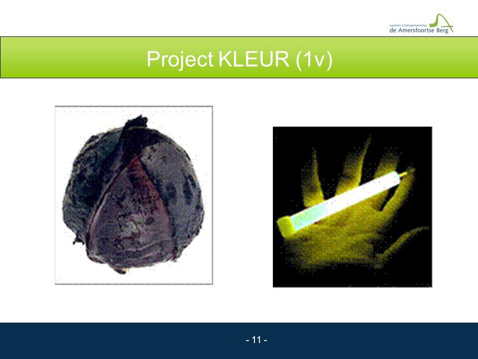 Project KLEUR (1v)