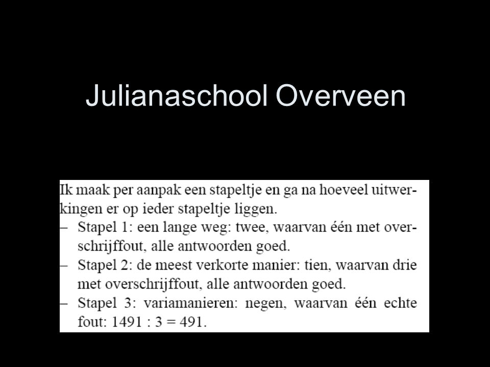 Julianaschool Overveen