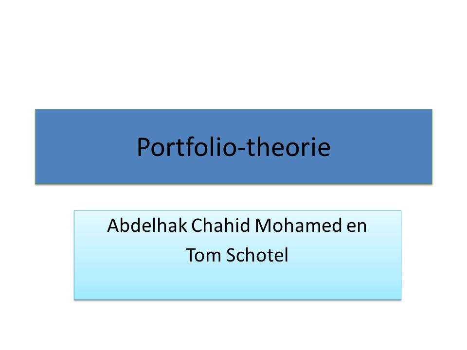 Abdelhak Chahid Mohamed en Tom Schotel