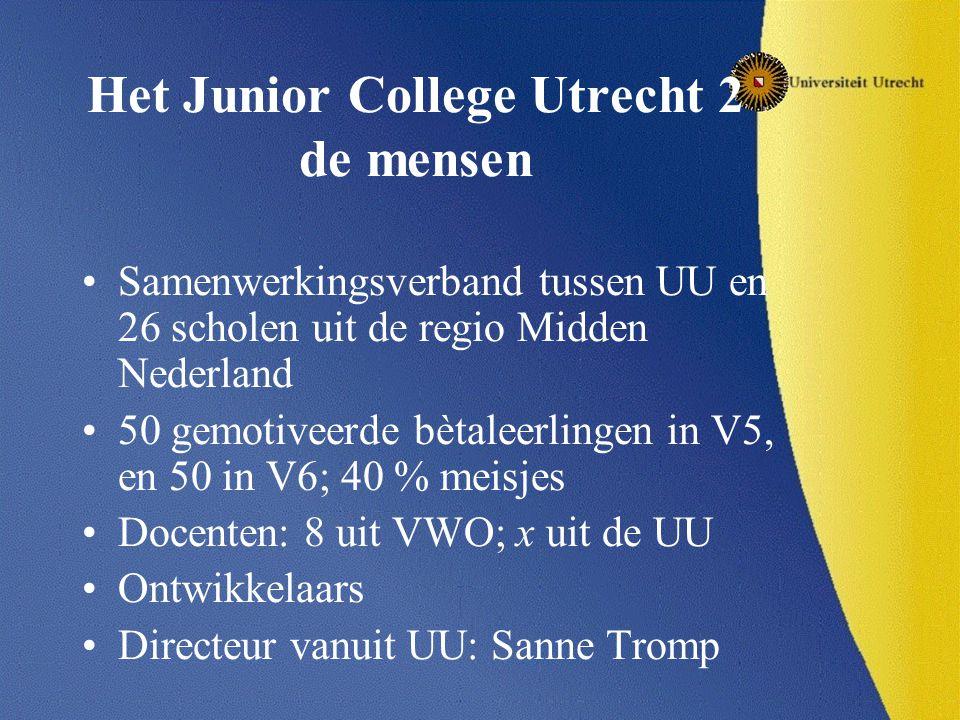 Het Junior College Utrecht 2 de mensen
