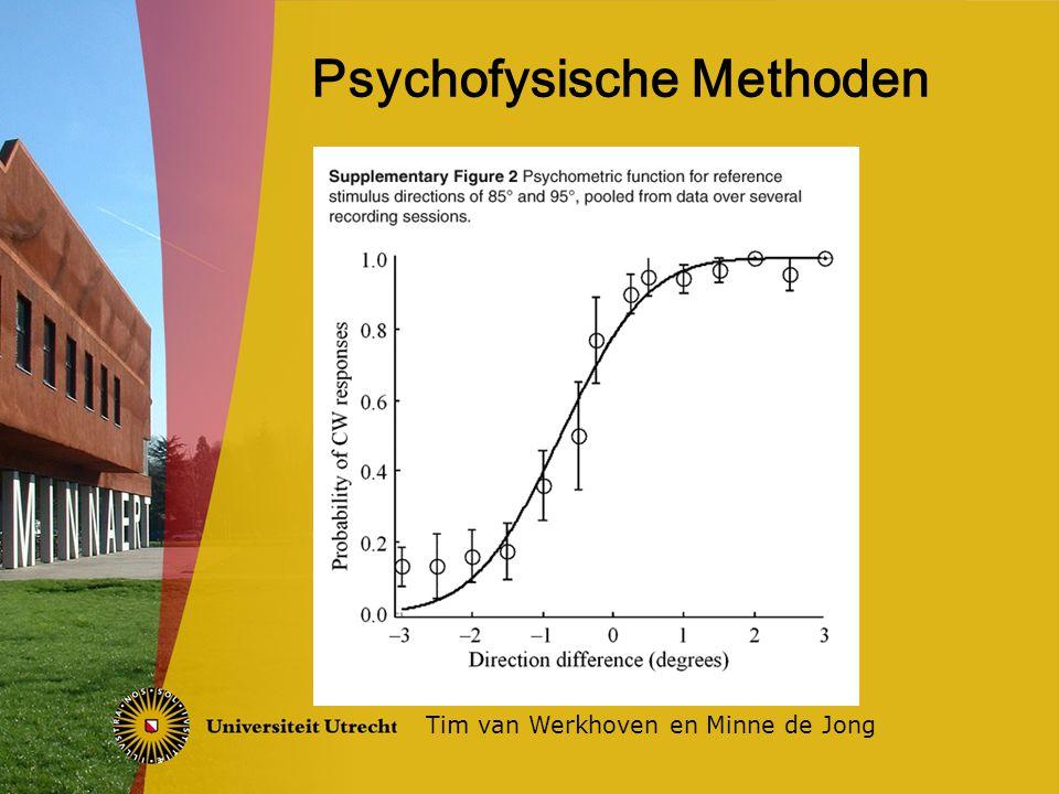 Psychofysische Methoden