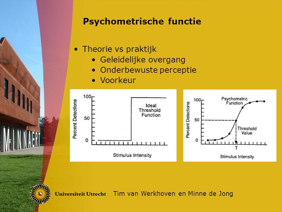 Psychometrische functie