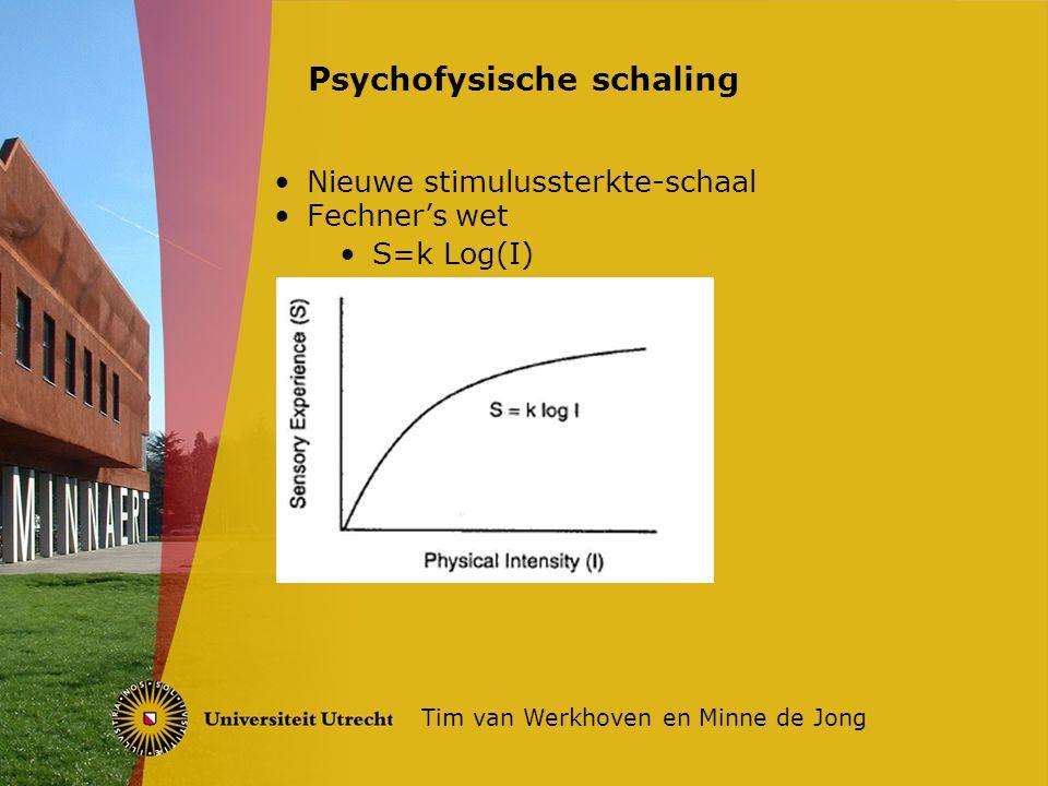 Psychofysische schaling
