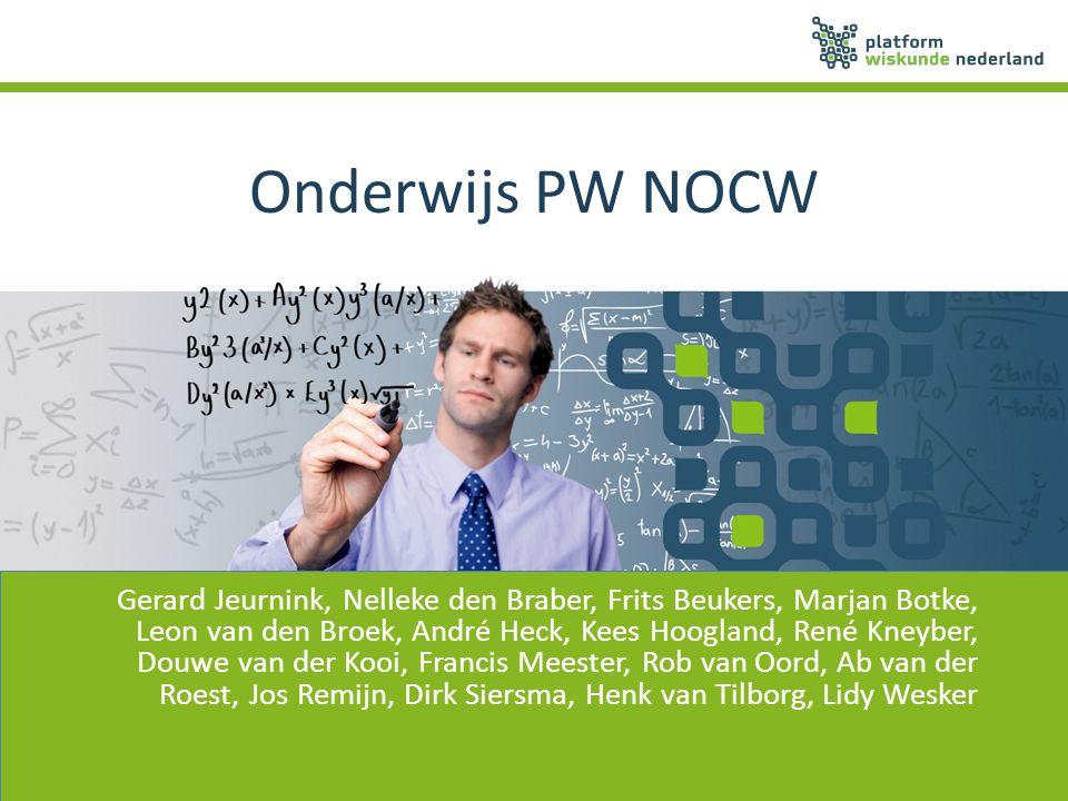 Onderwijs PW NOCW