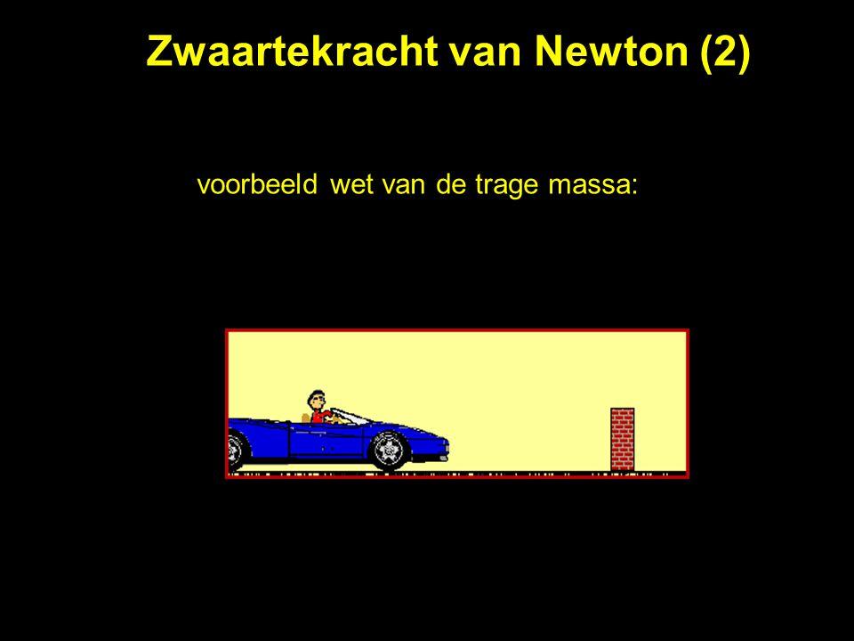 Zwaartekracht van Newton (2)