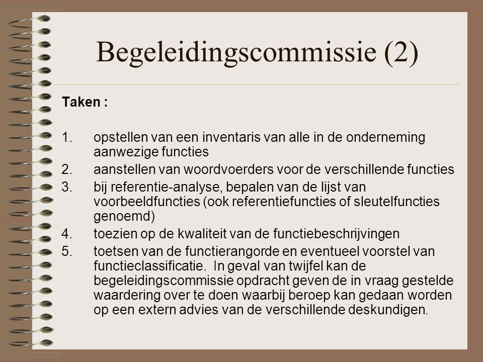 Begeleidingscommissie (2)