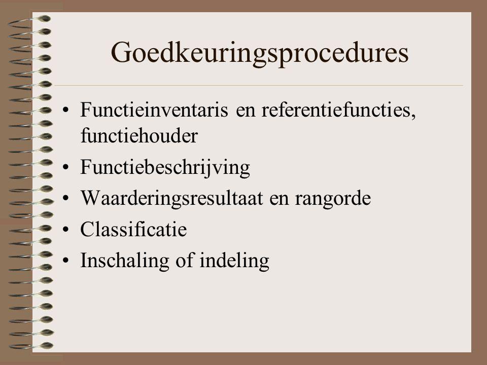 Goedkeuringsprocedures