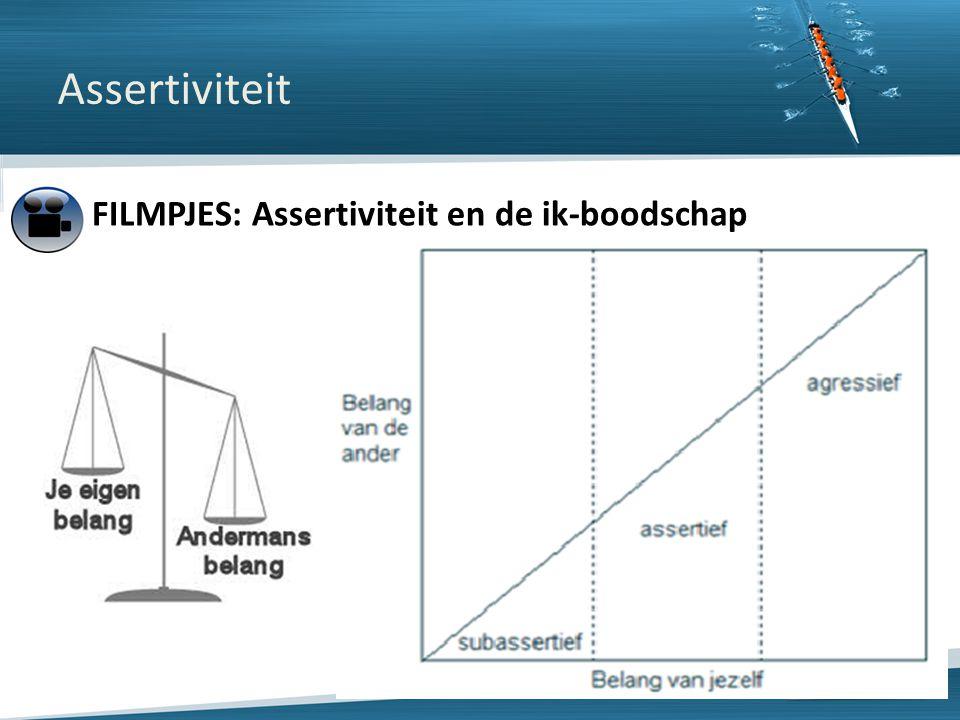 Assertiviteit FILMPJES: Assertiviteit en de ik-boodschap