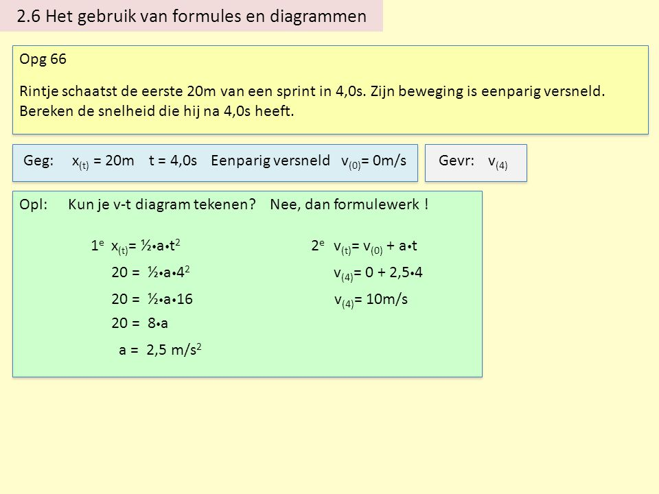 2.6 Het gebruik van formules en diagrammen