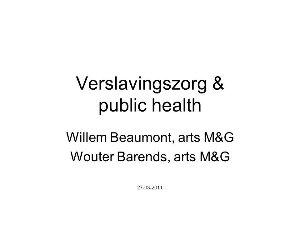Verslavingszorg & public health