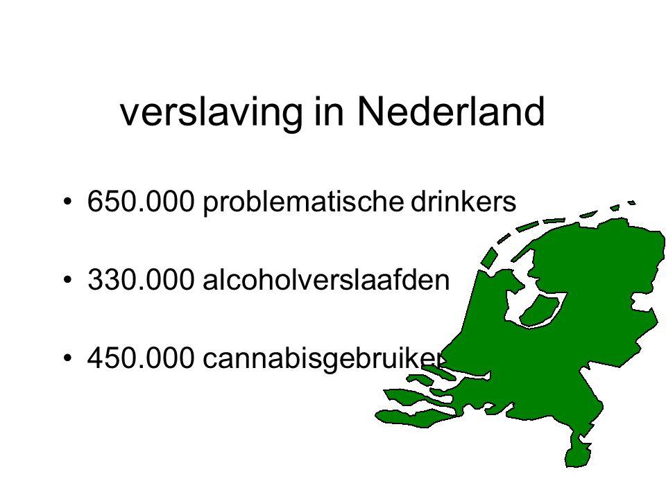 verslaving in Nederland